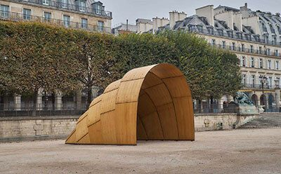 THE ARMADILLO TEA PAVILION BY RON ARAD
