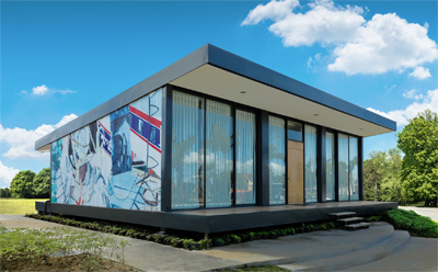 THE BILLBOARD HOUSE BY DAVID SALLE IN COLLABORATION WITH AA STUDIO