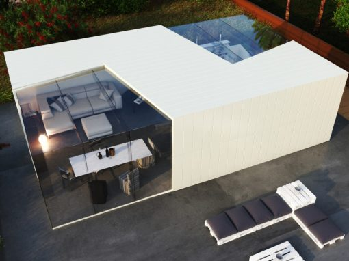 CONTAINER HOME BY LEV LIBESKIND