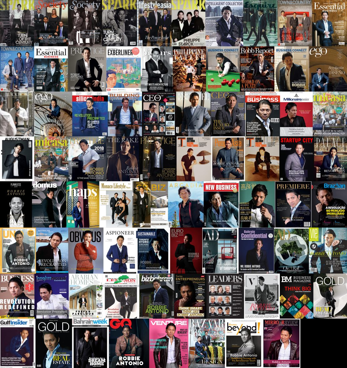 MAGAZINE COVERS COLLAGE